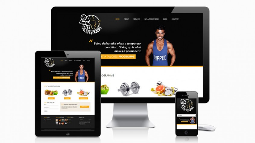 Aamir Fitness Web Designer