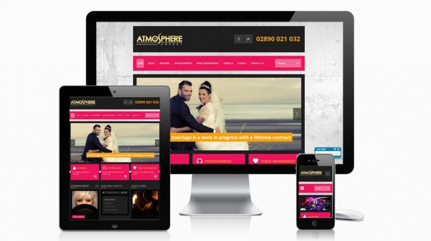 Atmosphere Agency Web Design