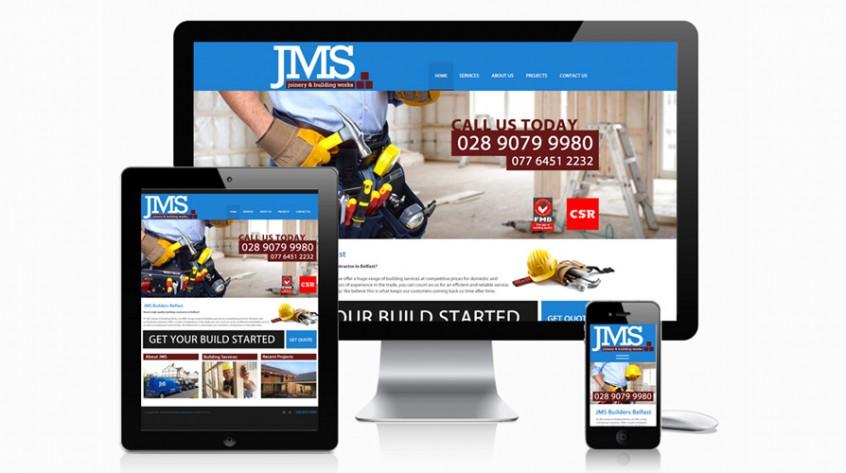 JMS Builder Website