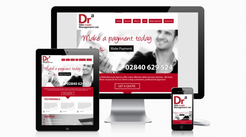 Debt Recovery Agency Web Design