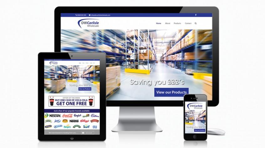 DW Carlisle Wholesale Web Design