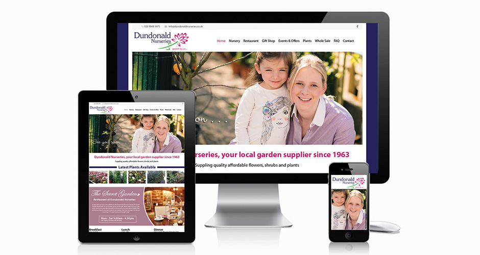 Dundonald Nurseries Website