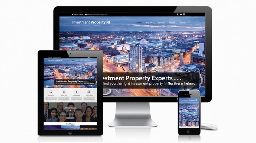 Investment Property NI Web Design
