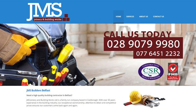 JMS Builders Belfast SEO