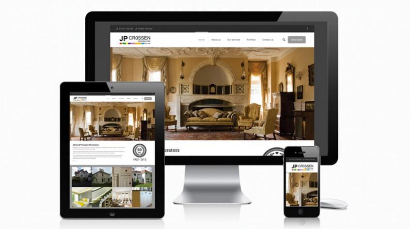 JP Crossen Decorators Web Design