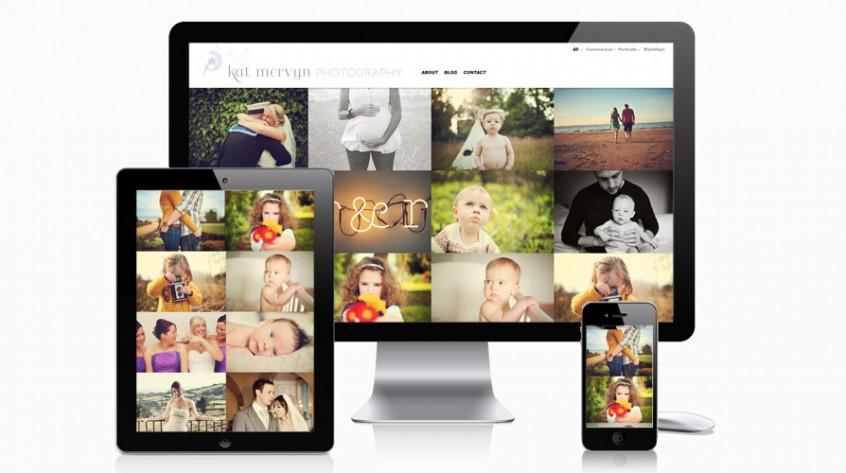Kat Mervyn Photography Web Design