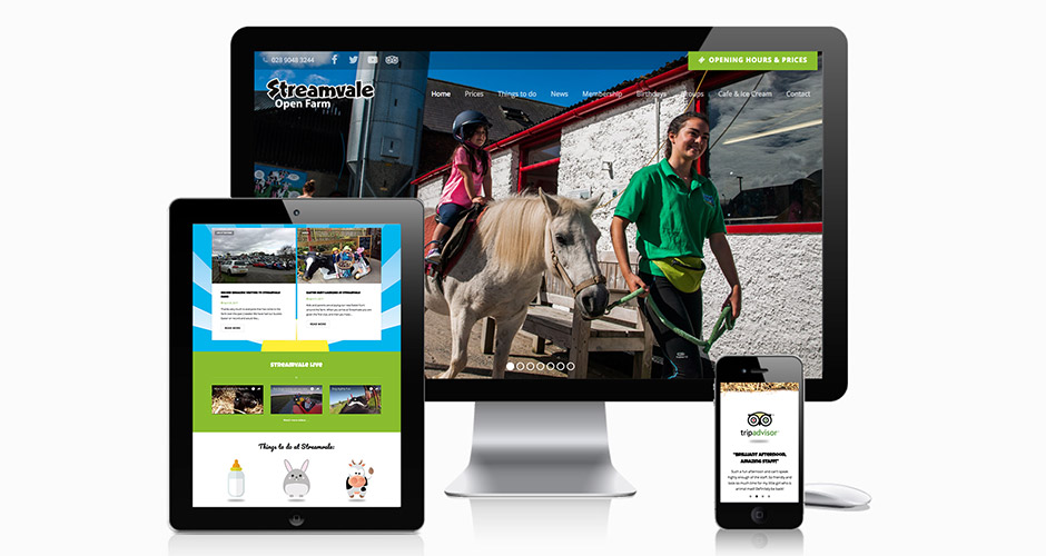 Streamvale Open Farm Website