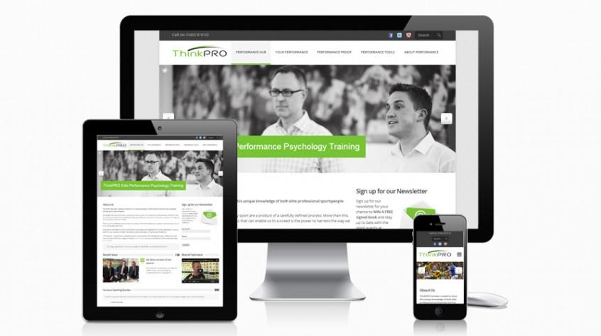 ThinkPRO Website Web Design