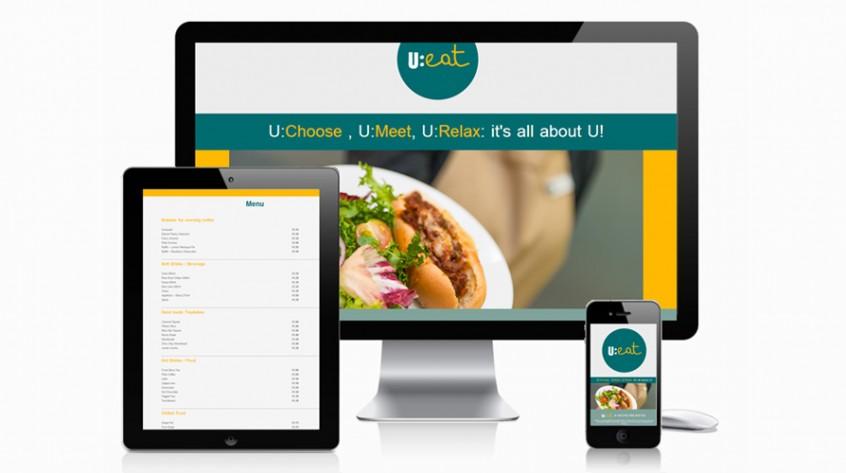 U:Eat Web Design