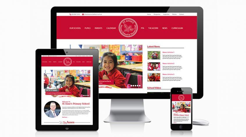 St Anne's Primary School Website